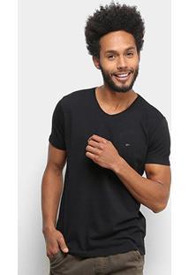 Camiseta Ellus Básica Manga Curta Masculina - Masculino