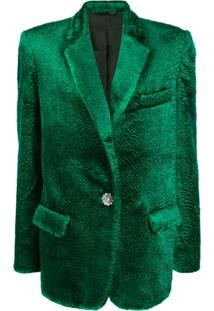 Attico Bianca Oversized Jacket - Verde
