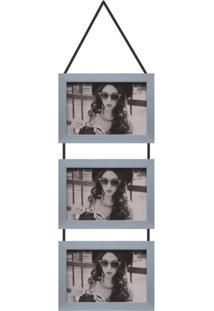 Porta-Retrato 10X15 Simple Prata