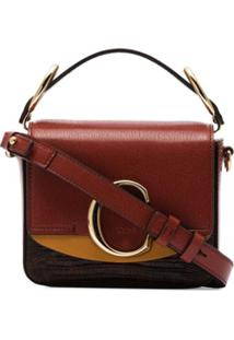 Chloé Bolsa Chloé C Mini - 27S Brown