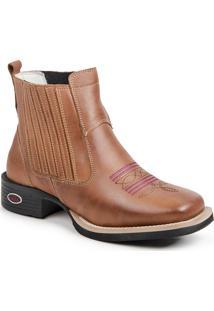 Botina Rancheiro Tróia Boots Whisky
