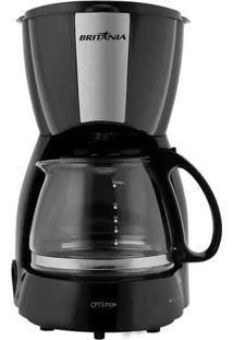 Cafeteira Elétrica Britânia Cp15 15 Xícaras Inox Preto
