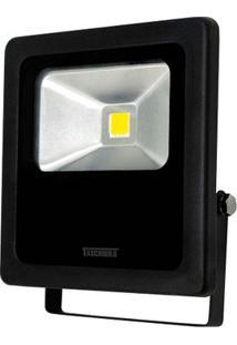 Refletor Para Lâmpada Tr Led 50W 3000K Preto Taschibra