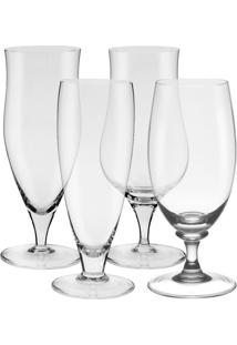 Conjunto 4 Taças Cerveja Classic 7000 - Oxford - Incolor