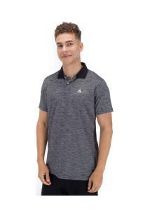 Camisa Polo Fatal Especial 18141 - Masculina - Cinza Escuro/Preto