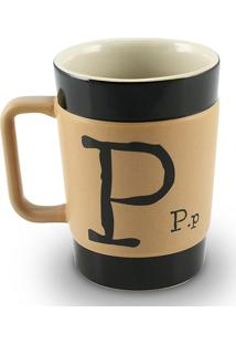 Caneca Coffe To Go- P 300Ml-Mondoceram - Pardo