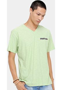 Camiseta Blue Bay Flamê Básica Masculina - Masculino
