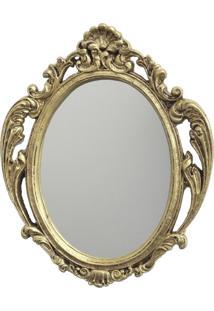 Espelho Casa Da Mãe Joana Napoli Dourado