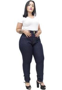 Calça Jeans Xtra Charmy Plus Size Skinny Gleyceany - Feminino