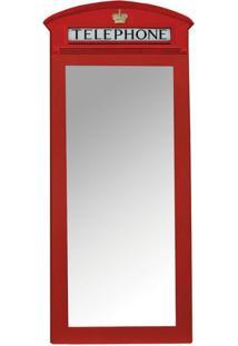 Espelho Telephone Vermelho 61314