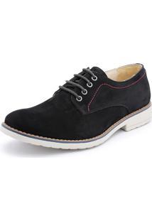 84071bf5e ... Sapato Casual Bergally Retro Preto