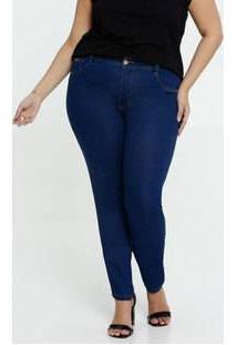 Calça Jeans Skinny Feminina Plus Size Marisa