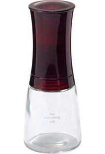 Moedor De Sal E Pimenta De Cerâmica Ajustável Vermelho Cm-20Rd Kyocera