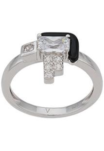 V Jewellery Anel Elodie - Prateado