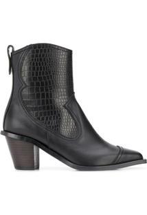 Reike Nen Ankle Boot Western - Preto
