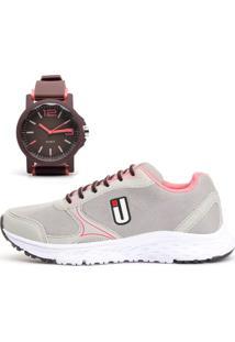 Kit Tênis Ousy Shoes Revolute Training + Relógio Grafiti - Kanui