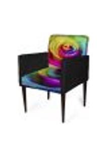 Cadeira Decorativa Sala Mademoiselle Plus Imp Digital 146