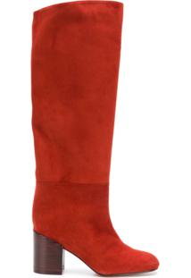 a931f01243 Bota Camurca Over Knee feminina
