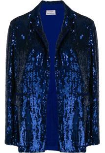 P.A.R.O.S.H. Jaqueta Com Paetês - Azul