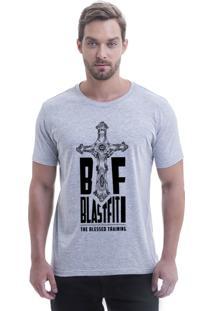 Camiseta Blast Fit Cinza