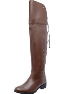 Bota Over Knee Mega Boots 979 Caramelo