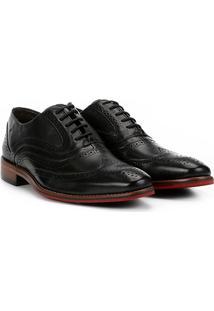Sapato Casual Couro Ferracini Caravaggio Premium Inglês - Masculino