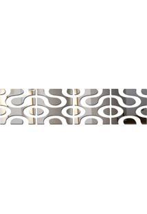 Espelho Acrílico De Parede Design Moderno 24,5X102 Cm