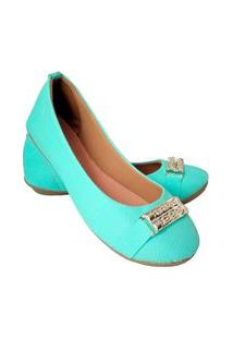 Sapatilha Feminina Estilo Shoes Ga740 Verde