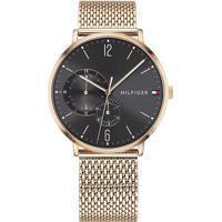 e507a96f280 Relógio Tommy Hilfiger Masculino Aço Dourado - 1791506