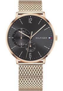 Relógio Tommy Hilfiger Masculino Aço Dourado - 1791506
