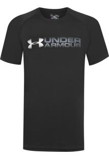 Camiseta Masculina Fade Away - Preto