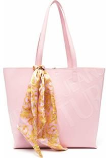 Versace Jeans Couture Open-Top Tote - Rosa