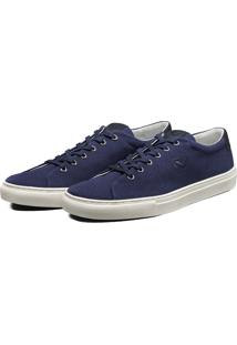 Sapatênis Casual Sapato Lona Lomen Azul