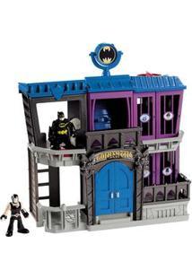 Imaginext Mattel Prisão De Gotham Universo Dc