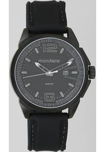 Relógio Analógico Mondaine Feminino - 53747Gpmvpi1 Preto - Único