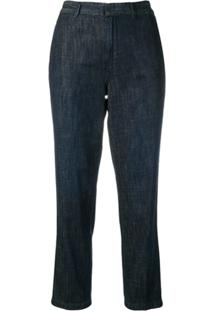 ... Polo Ralph Lauren Calça Jeans Reta Cropped - Azul d4670182ab2