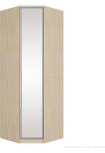 Guarda-Roupa Modulado Canto Obliquo 1 Porta Diamante M302/3 Com Espelho Fendi - Henn
