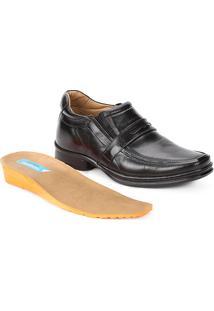 Sapato Conforto Couro Rafarillo Soft Confort Alth Gravata - Masculino