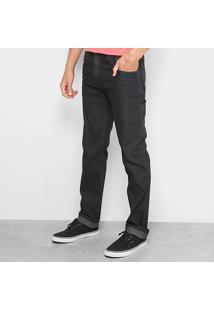 Calça Jeans Slim Ellus 2Nd Floor Escura Amaciada Masculina - Masculino