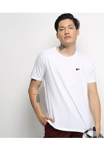 Camiseta T-Shirt Ellus Masculina - Masculino-Branco