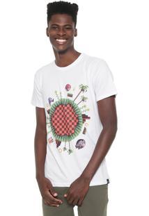 Camiseta Tectoy Sonic The Hedgehog Pixel Branca