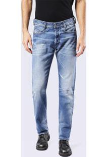 Calça Jeans Diesel Akee Masculina - Masculino-Azul