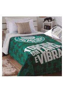 Cobertor Jolitex Palmeiras Torcida