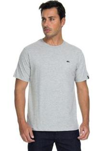 Camiseta Quiksilver Chest Heather Masculina - Masculino-Cinza