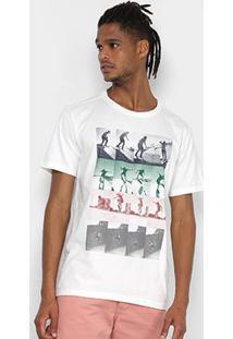 Camiseta Redley Silk Sequencera Negativera Masculina - Masculino