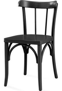 Cadeira Cozinha Colorida - Laca Preta - Justine - 43X47,5X78,5 Cm