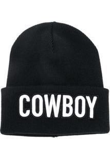 ... Dsquared2 Gorro  Cowboy  De Lã - Preto d56f1b8d2fa