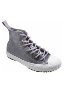 Tênis Converse All Star Boot Hi Cinza Ametista Ct13940002