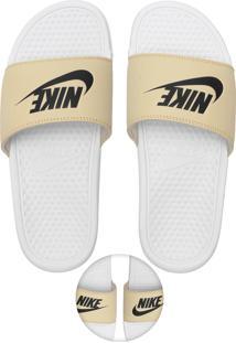 Chinelo Slide Nike Sportswear Benassi Jdi Branco