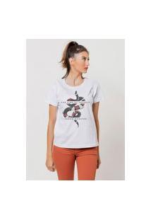 Camiseta Jay Jay Basica Far Side Branca Dtg